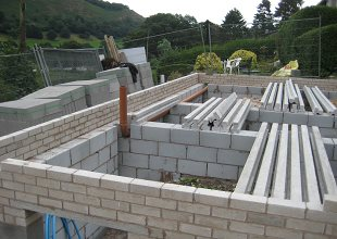 Beam And Block Floor Installed At New Holiday Cottage At